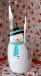 Tiffany's Snowman Glass 2