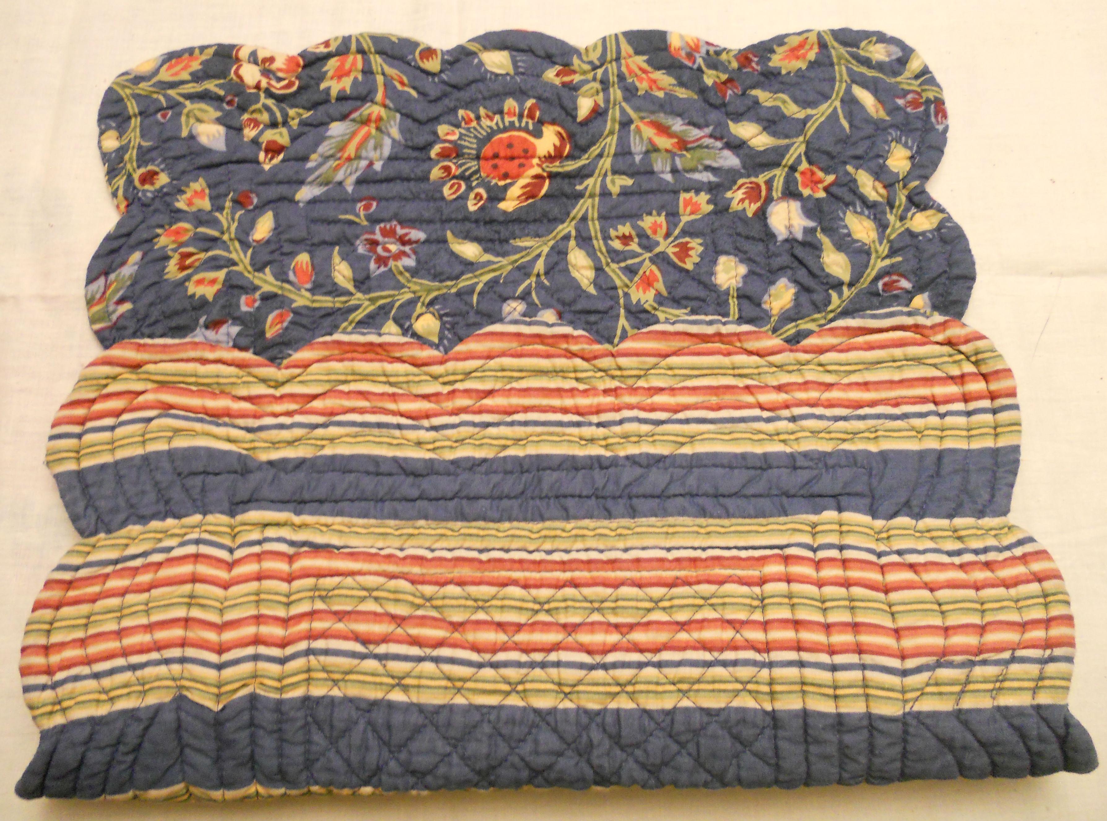 Placemat Pouch Pillows A La Mode