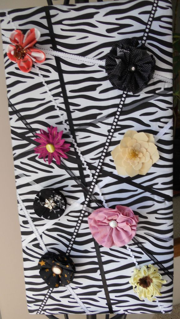Memo Board with Flowers