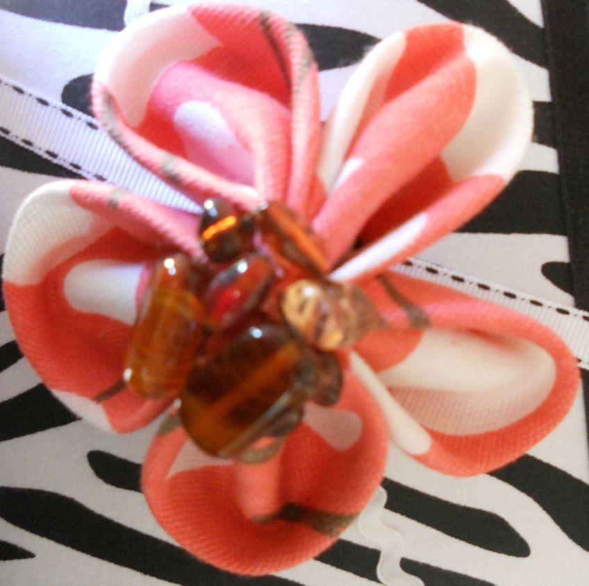 Tutorial from Kimono Reincarnate with beads