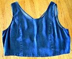 Cut-off jumper bodice