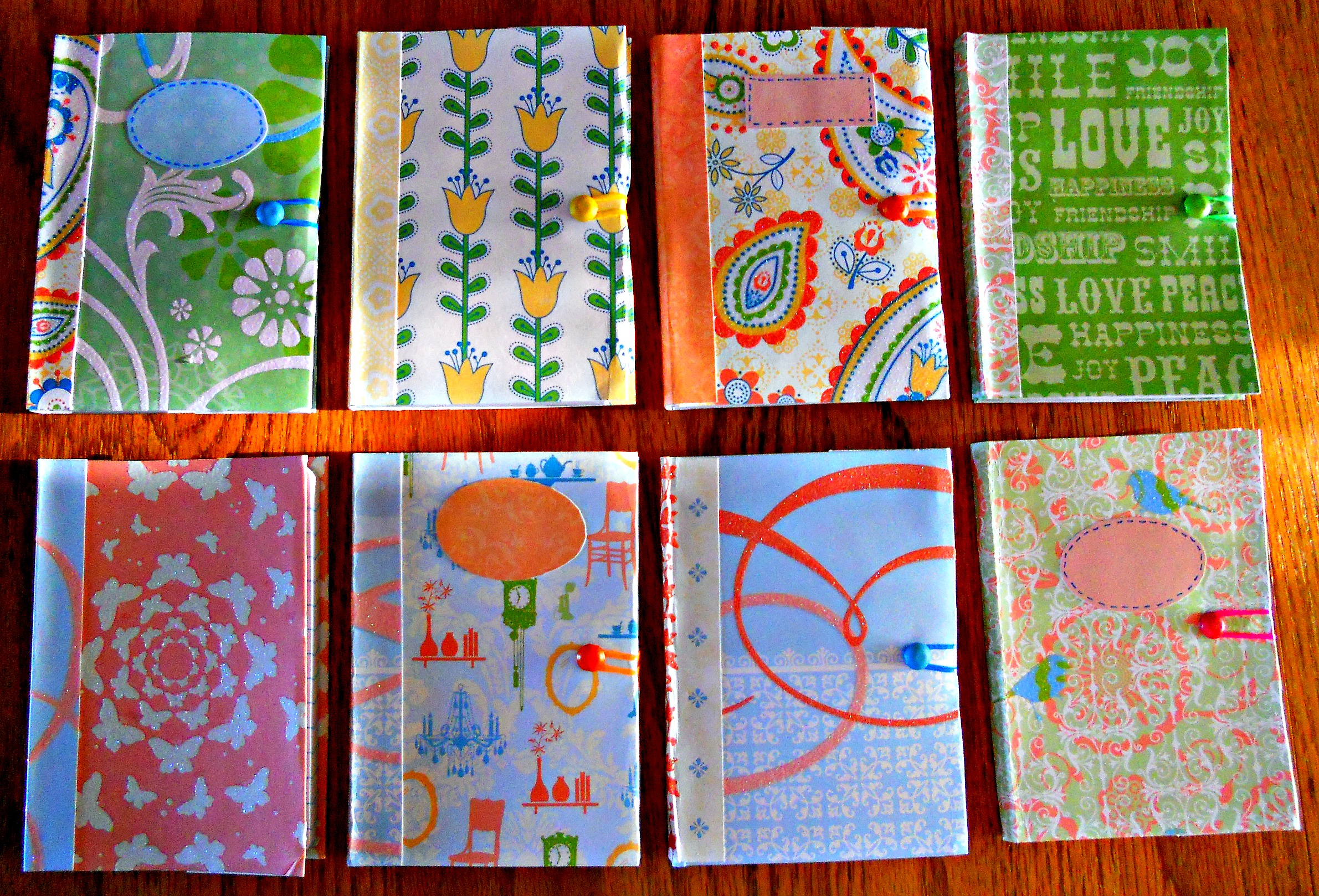 Scrapbook notebook ideas - Scrapbook Notebook Ideas Homemade Gifts Pillows A La Mode