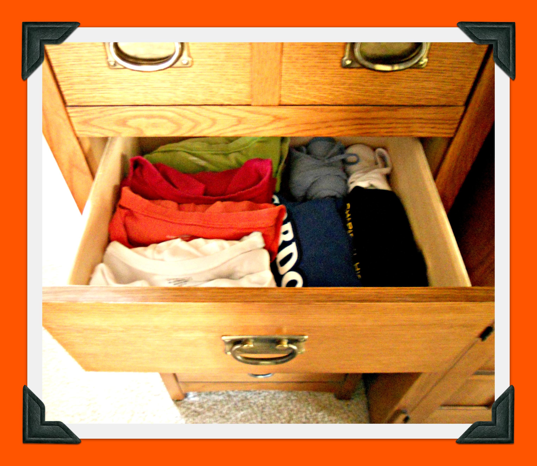 T shirts pillows a la mode page 2 for T shirt drawer organization