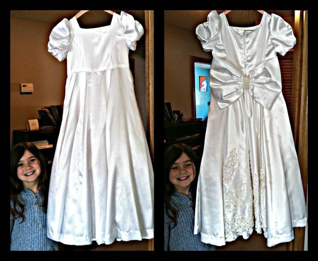 Briana's Dress Collage