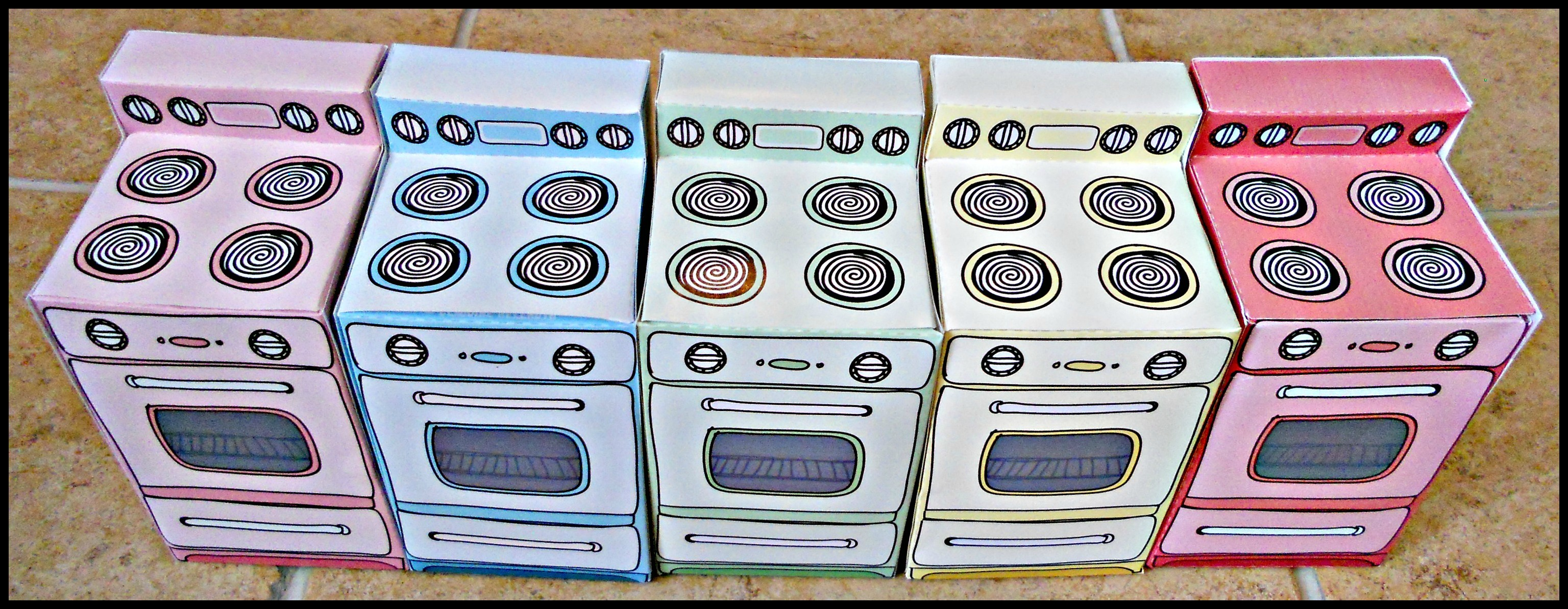 paper oven template