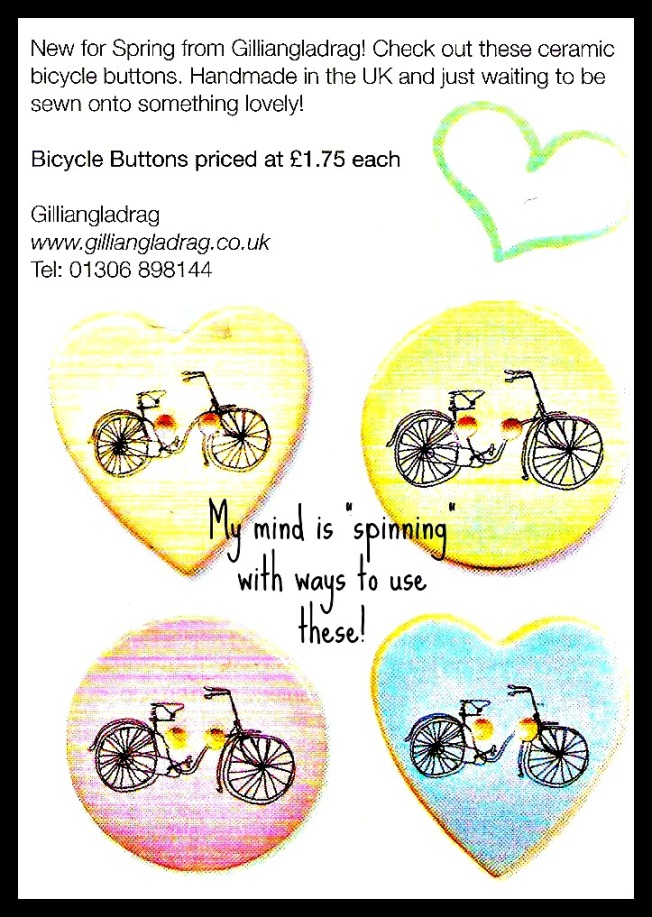 1Bicycle Buttons