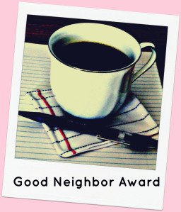 Good Neighbor Award