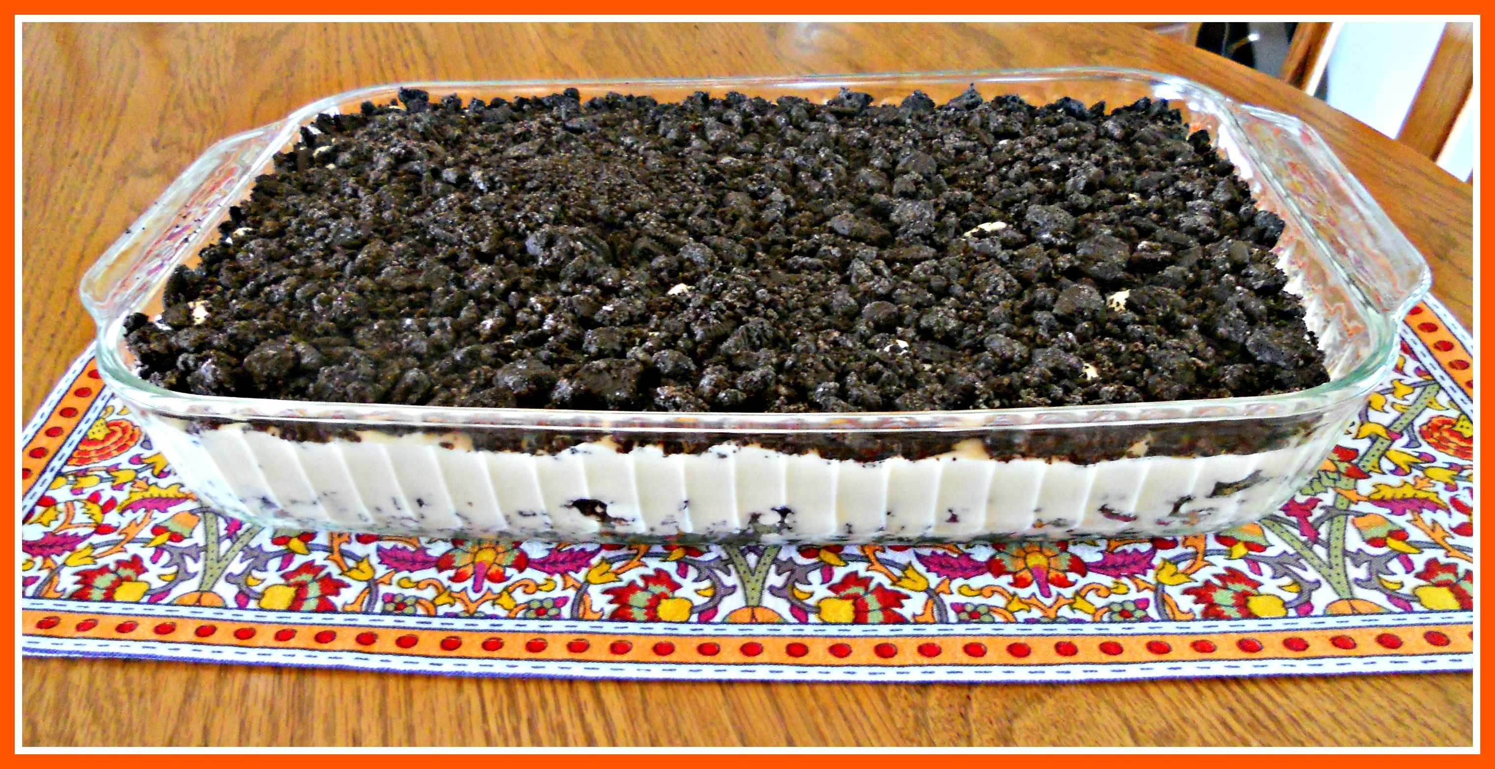 Dirt Cake PILLOWS ALAMODE