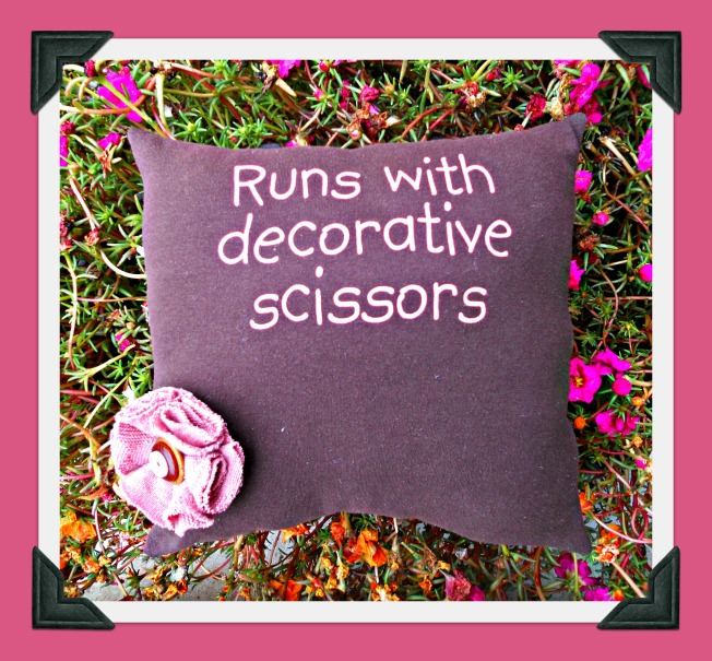 Scrapbooking Pillow